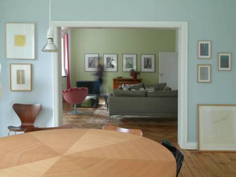 Farbige Durchblicke Bei Der Wandgestaltung Mit Wandfarben Von Keim  Avantgarde